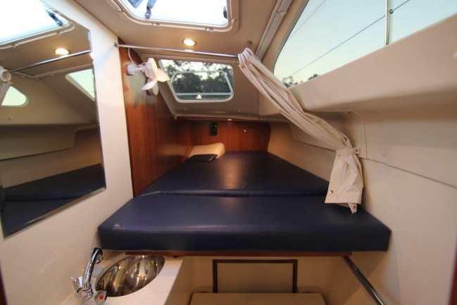 Preowned Sail Catamarans for Sale 2014 Legacy 35 Layout & Accommodations