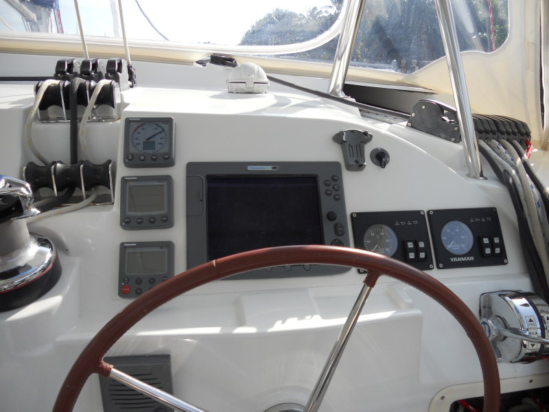 Preowned Sail Catamarans for Sale 2008 Lagoon 420 Electronics & Navigation