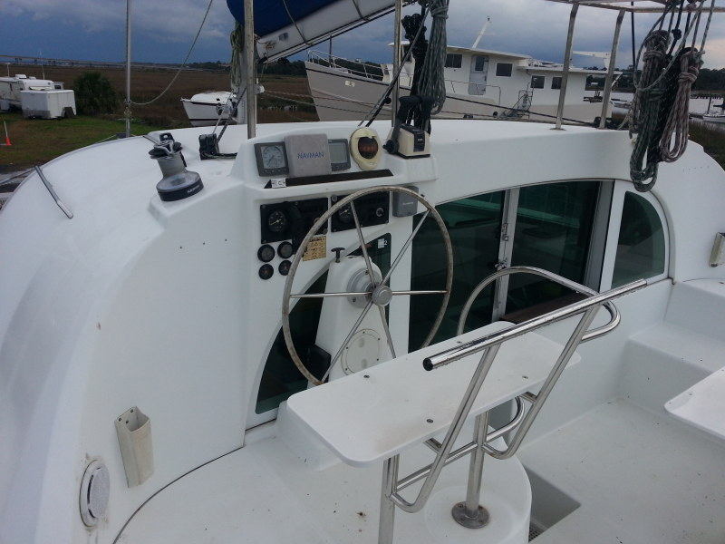 Preowned Sail Catamarans for Sale 2003 Lagoon 380 Deck & Equipment