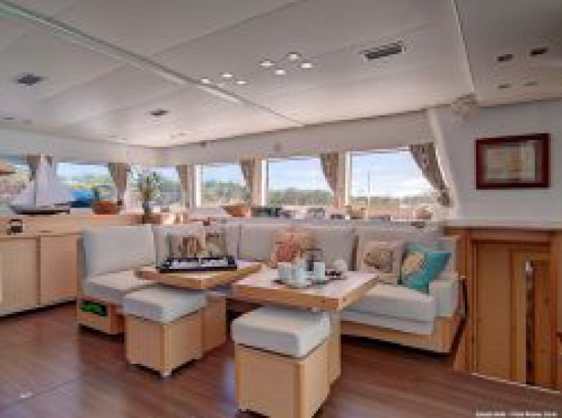 Used Sail Catamaran for Sale 2011 Lagoon 620  Layout & Accommodations