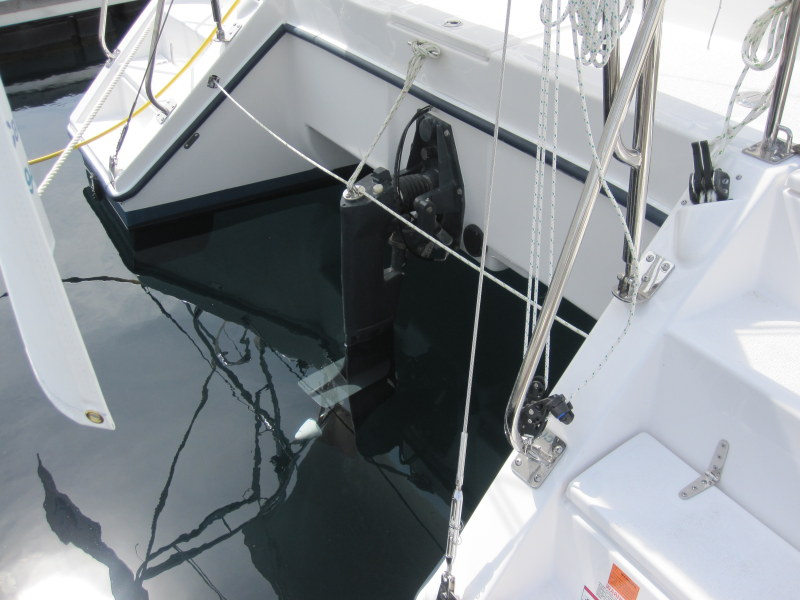 Used Sail Catamaran for Sale 2012 Gemini 105Mc Deck & Equipment