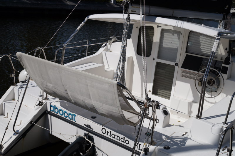 Preowned Sail Catamarans for Sale 2011 Gemini 105Mc Deck & Equipment