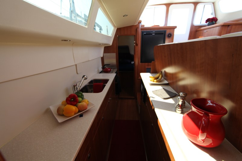 New Sail Catamarans for Sale 2014 Legacy 35 Galley