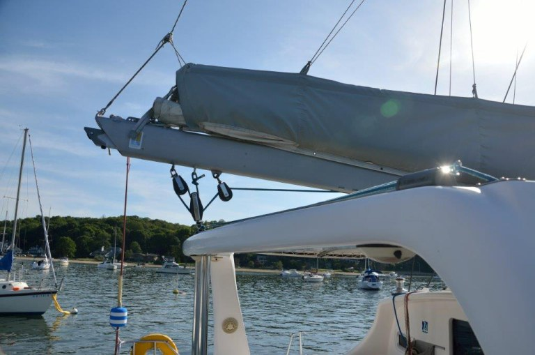 Preowned Sail Catamarans for Sale 2001 Voyage 38  Sails & Rigging