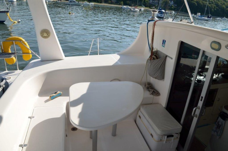 Preowned Sail Catamarans for Sale 2001 Voyage 38  Deck & Equipment