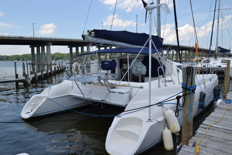 Preowned Sail Catamarans for Sale 1995 Athena 38 Boat Highlights