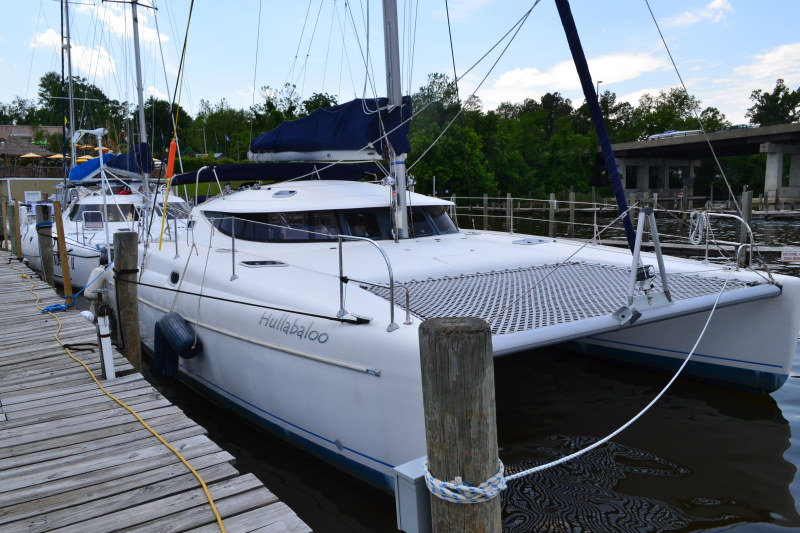 Used Sail Catamaran for Sale 1995 Athena 38 Boat Highlights