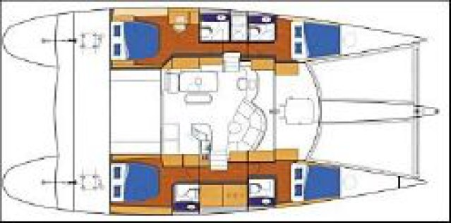 Used Sail Catamaran for Sale 2010 Eleuthera 60 Boat Highlights