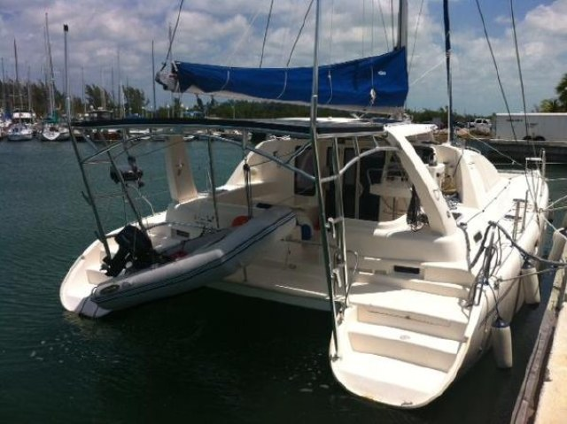 Used Sail Catamaran for Sale 2002 Leopard 42 Sails & Rigging