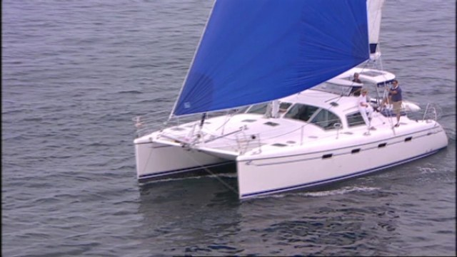 Preowned Sail Catamarans for Sale 2004 Privilege 435 EZC Boat Highlights