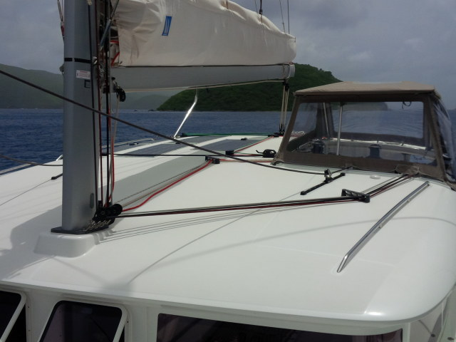 Used Sail Catamaran for Sale 2013 Lagoon 400 S2 Sails & Rigging
