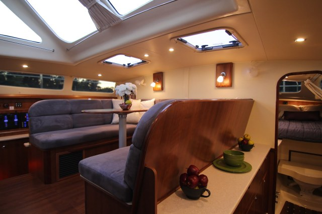 New Sail Catamarans for Sale 2014 Legacy 35 Layout & Accommodations