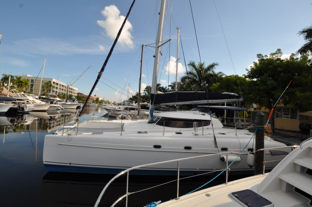 Preowned Sail Catamarans for Sale 2006 Bahia 46 Boat Highlights