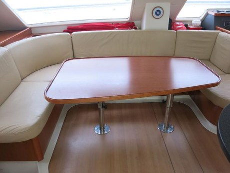 Preowned Sail Catamarans for Sale 2010 Leopard 46  Galley