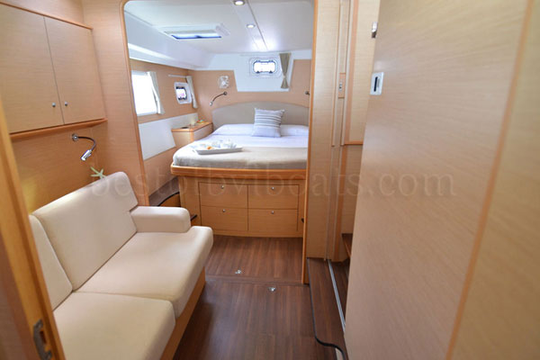 Preowned Sail Catamarans for Sale 2012 Lagoon 500 Layout & Accommodations