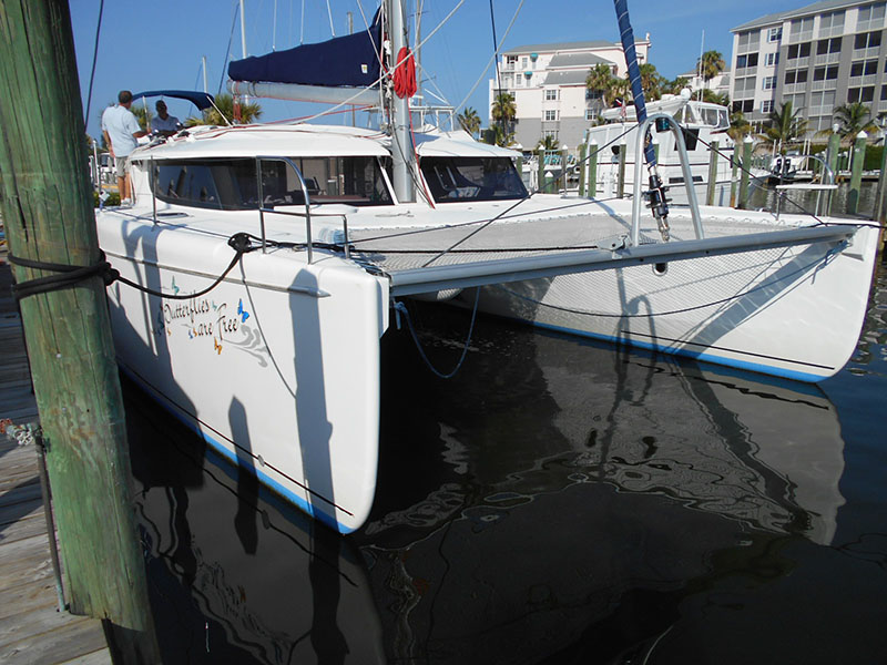 Used Sail Catamaran for Sale 2008 Orana 44 Boat Highlights