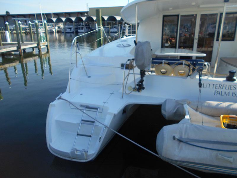 Used Sail Catamaran for Sale 2008 Orana 44 Deck & Equipment