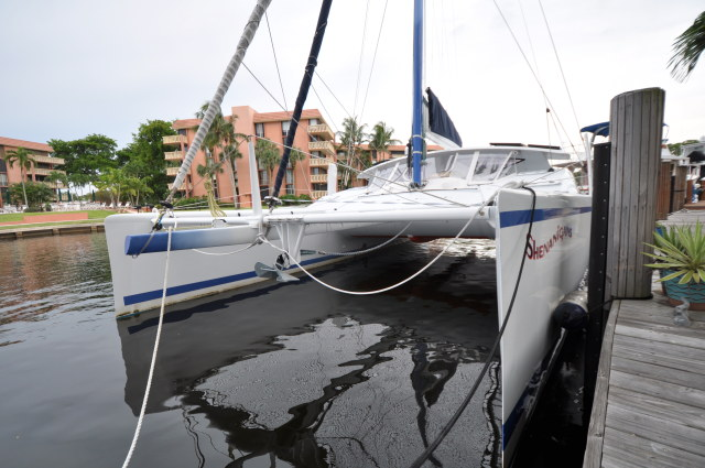 Preowned Sail Catamarans for Sale 2008 Moxie 37 Boat Highlights