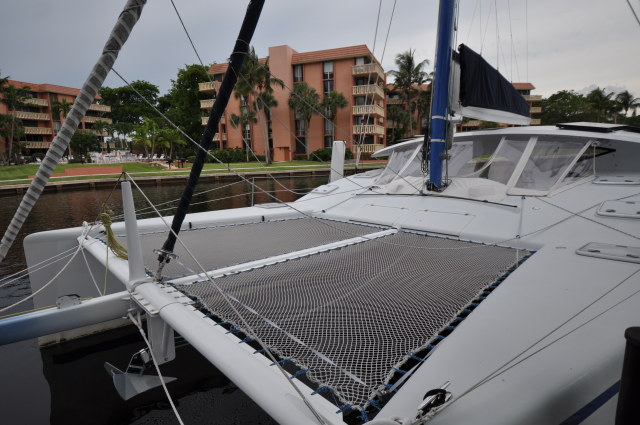 Preowned Sail Catamarans for Sale 2008 Moxie 37 Deck & Equipment