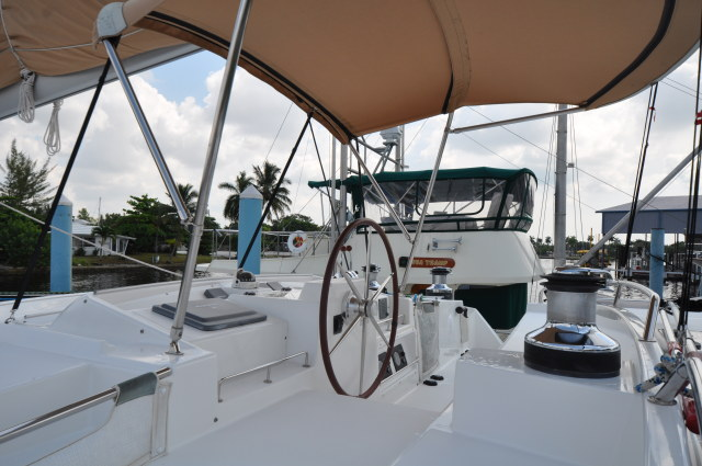 Used Sail Catamaran for Sale 2007 Lagoon 500 Deck & Equipment