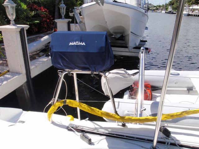 Used Sail Catamaran for Sale 2005 Lagoon 380 S2 Deck & Equipment