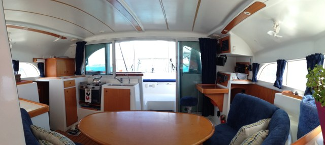Preowned Sail Catamarans for Sale 2000 Lagoon 380 Galley