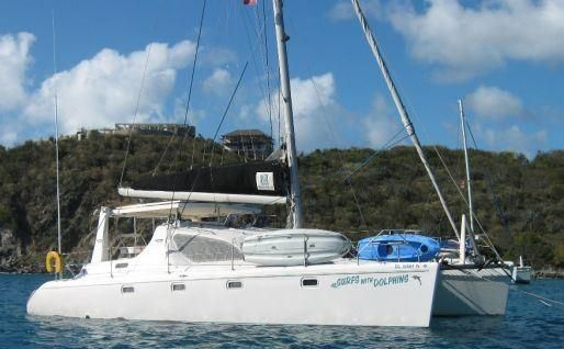 Preowned Sail Catamarans for Sale 2000 Voyage 38
