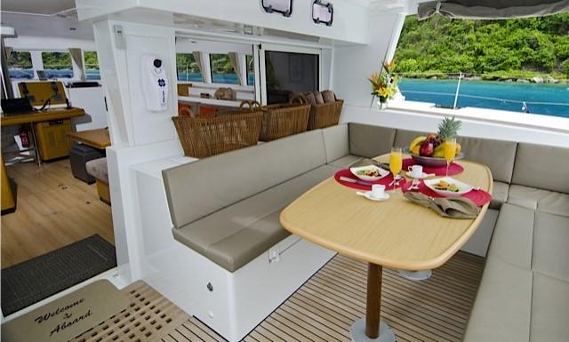 Used Sail Catamaran for Sale 2011 Lagoon 500 Deck & Equipment