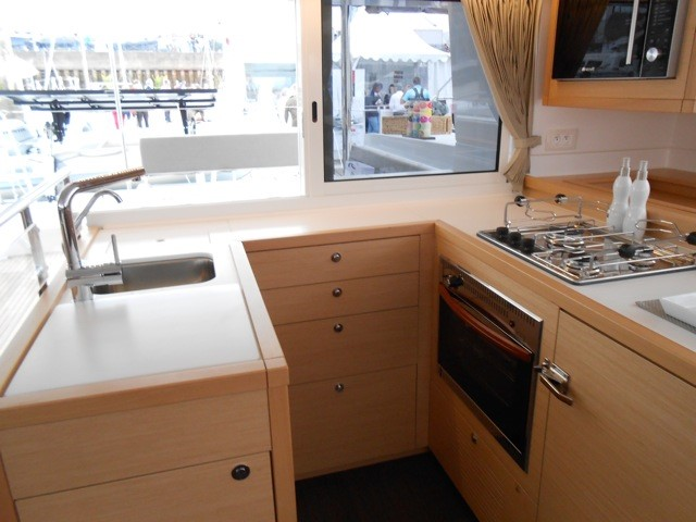 Used Sail Catamaran for Sale 2013 Lagoon 450 Galley