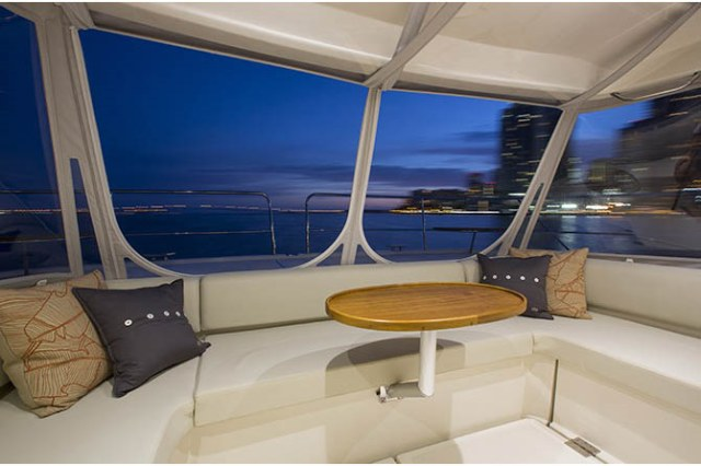 New Power Catamarans for Sale 2014 Aquila 484 Deck & Equipment