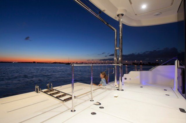 New Power Catamaran for Sale 2014 Aquila 484 Deck & Equipment