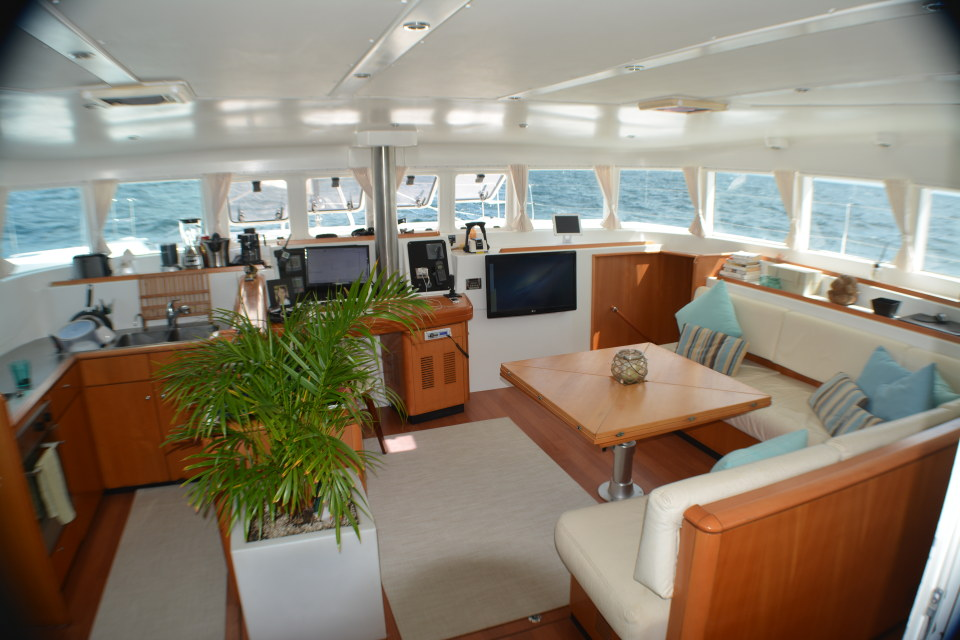 Preowned Sail Catamarans for Sale 2006 Lagoon 500 Layout & Accommodations