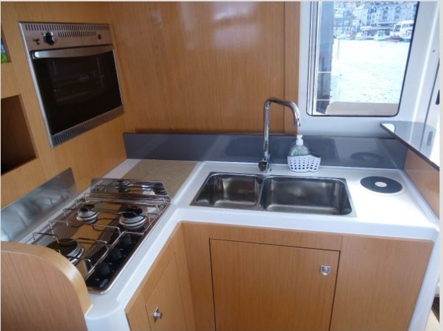 Preowned Sail Catamarans for Sale 2012 Mahe 36 Galley