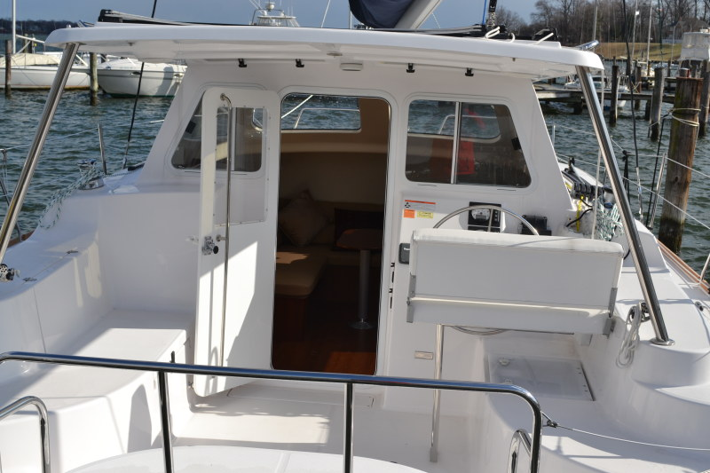 Used Sail Catamaran for Sale 2014 Legacy 35 Deck & Equipment