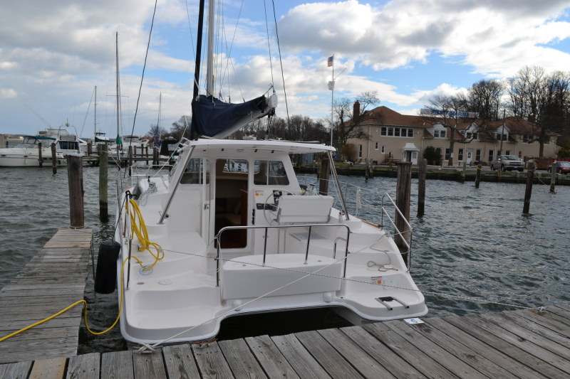 Used Sail Catamaran for Sale 2014 Legacy 35 Boat Highlights