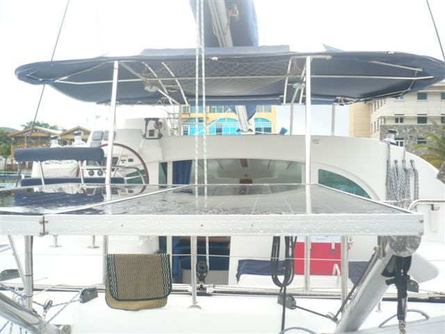 Preowned Sail Catamarans for Sale 2005 Lagoon 380 S2 Deck & Equipment