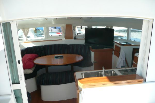 Preowned Sail Catamarans for Sale 2006 Lagoon 380 S2 Layout & Accommodations