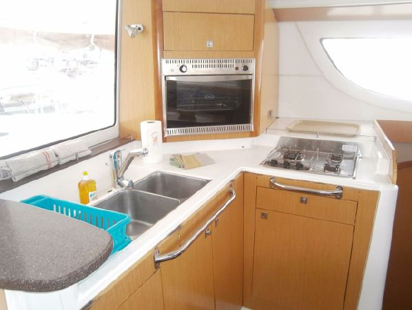 Preowned Sail Catamarans for Sale 2009 Lipari 41 Galley