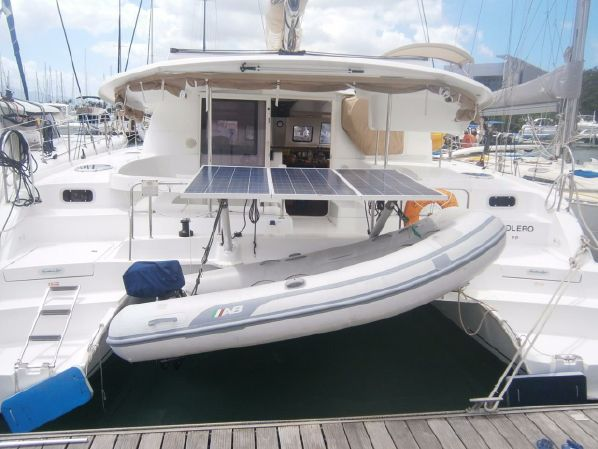 Preowned Sail Catamarans for Sale 2009 Lipari 41 Boat Highlights