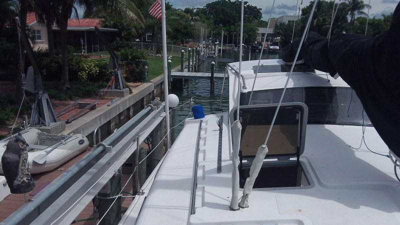 Preowned Sail Catamarans for Sale 2000 Gemini 105Mc Deck & Equipment