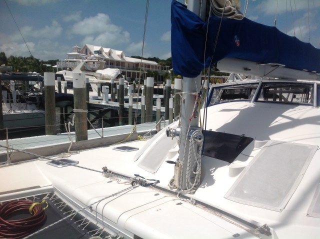 Preowned Sail Catamarans for Sale 1994 Lagoon 42 TPI Sails & Rigging