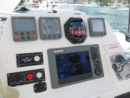Preowned Sail Catamarans for Sale 2012 Leopard 44 Electronics & Navigation