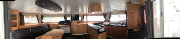 Preowned Sail Catamarans for Sale 2012 Salina 48 Layout & Accommodations