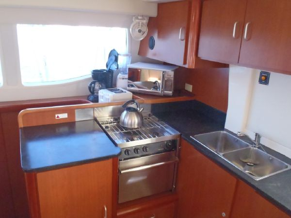 Used Sail Catamaran for Sale 2011 Leopard 46  Galley