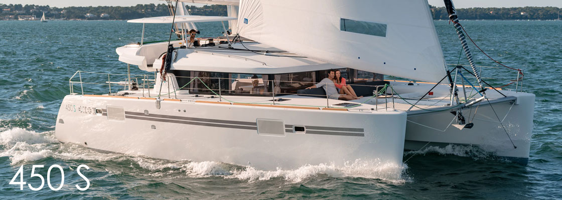 New Sail Catamarans for Sale  Lagoon 450 S Boat Highlights