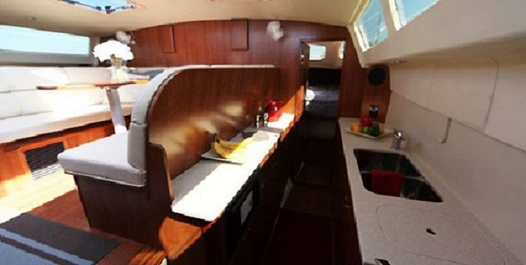 Preowned Sail Catamarans for Sale 2013 Legacy 35 Galley