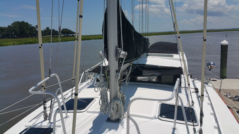 Preowned Sail Catamarans for Sale 1998 Gemini 105Mc Sails & Rigging