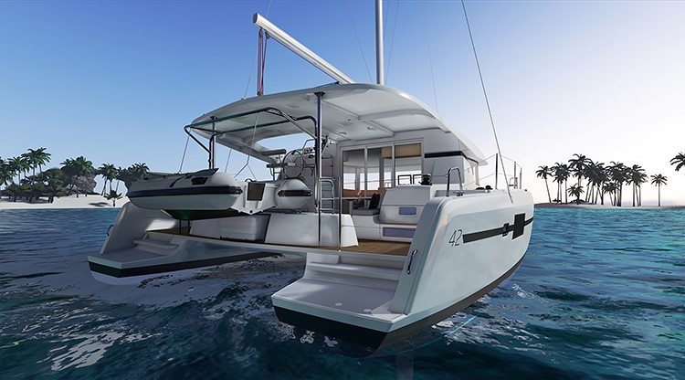 New Sail Catamarans for Sale  Lagoon 42 Boat Highlights