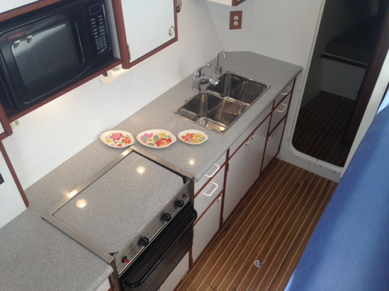 Used Sail Catamaran for Sale 2003 Endeavour 44 Galley