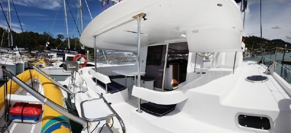 Preowned Sail Catamarans for Sale 2010 Lipari 41 Deck & Equipment